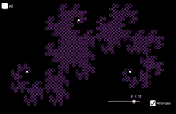 Harter-Heighway Dragon fractal