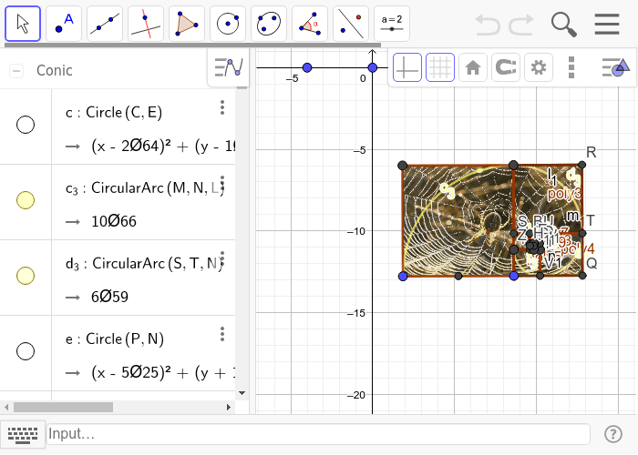 Here you will draw a golden rectangle Presiona Intro para comenzar la actividad