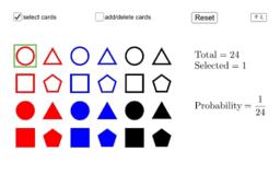 Learning Probability Laws by Drawing Cards | 運用圖案咭學習概率法則