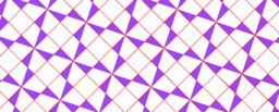 Pythagorean Theorem by Tessellation # 43 Tiling