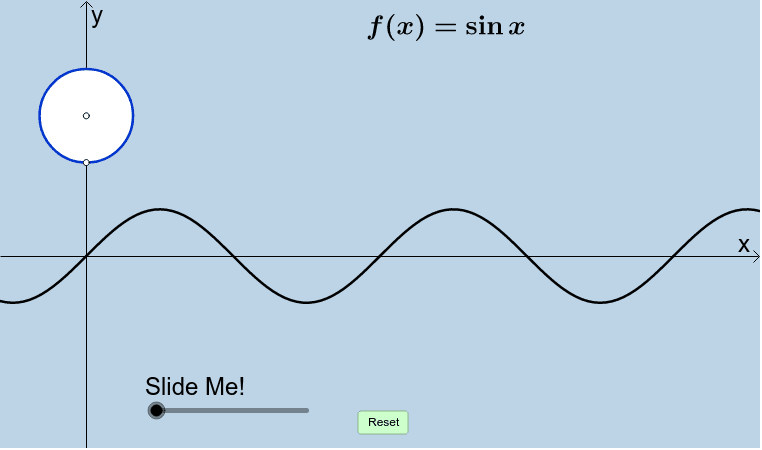 PARENT SINE FUNCTION Press Enter to start activity