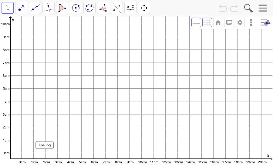 Dreieck 6: A(10/0), B(16/2), C(1/8): Zeichne das Dreieck und konstruiere den Höhenschnittpunkt H. Füge den Screenshot der Koordinaten von H im Auftrag in Teams ein! Drücke die Eingabetaste um die Aktivität zu starten