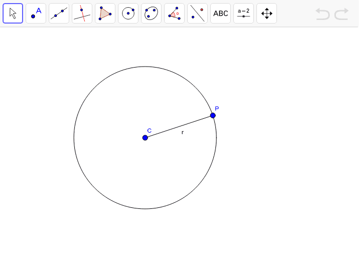 how to find gradient using radius and tangent theorem