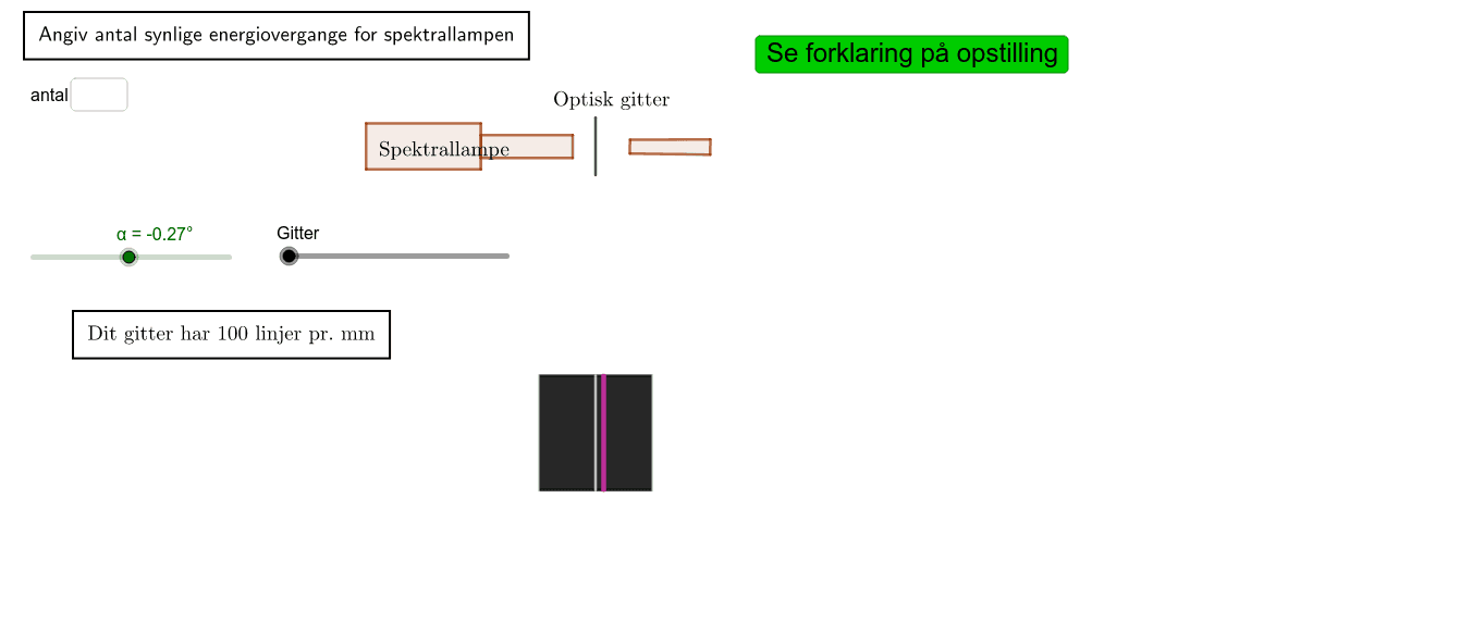 Spektralanalyse Press Enter to start activity