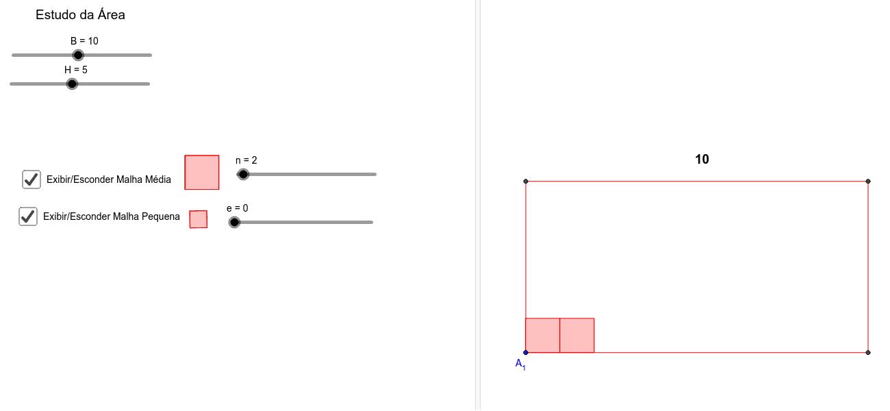E se o quadradinho fosse menor? Press Enter to start activity