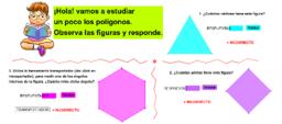 Ángulos, aristas y vértices de polígonos