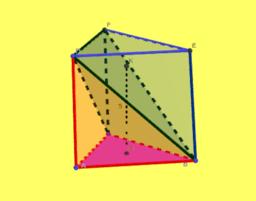 Descomposición de un prisma en pirámides