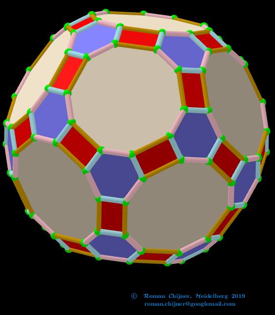 Truncated Icosidodecahedron, V=120