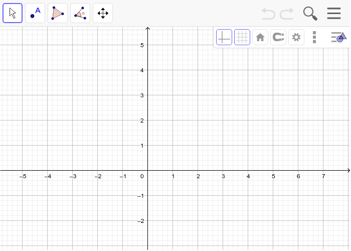 Graph Quadrilateral ABCD with vertices A(-1,2), B(0,-1), C(6,1), and D(5,4) Press Enter to start activity