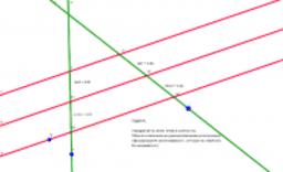 Перемена Теорема Фалеса