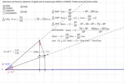 Función trigonométrica de la suma o resta de dos ángulos