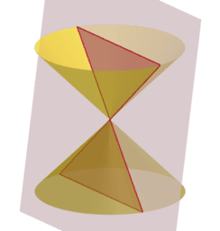 Conic Sections: Plane Intersecting Double Cone
