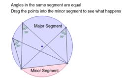Angles in the same Segment