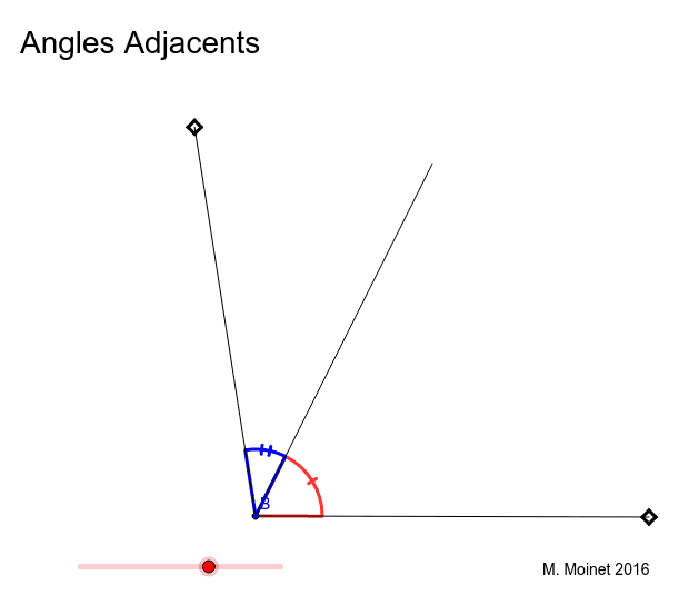 """Angles Adjacents Tapez """"Entrée"""" pour démarrer l'activité"""