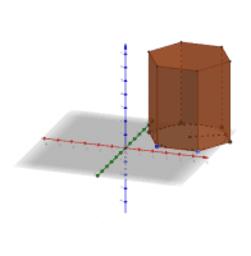 Prisma regolare esagonale