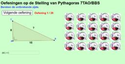 ICT-opdracht Pythagoras