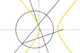 軌跡為橢圓或雙曲線