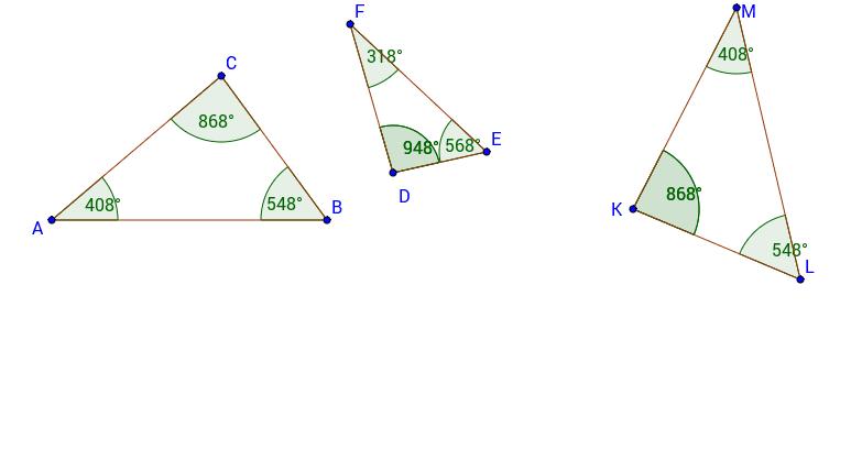 POdobni trikotniki Press Enter to start activity