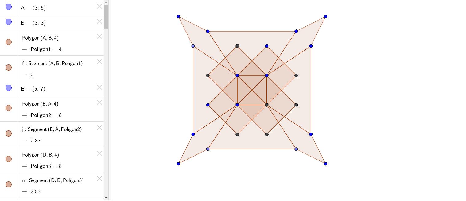 Mandala de quadrilàters