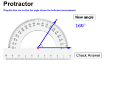Draw Angles with a Protractor