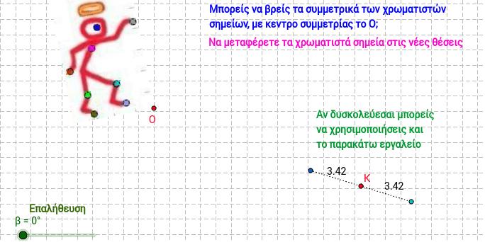 Συμμετρία ως προς κέντρο 3