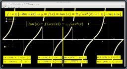 La funzione Tangente espressa mediante la funzione secante
