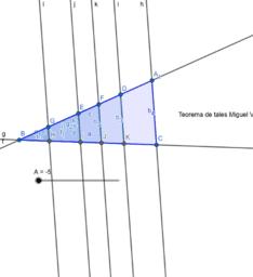 Teorema de tales Miguel Valdés