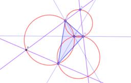 外接相似正三角形