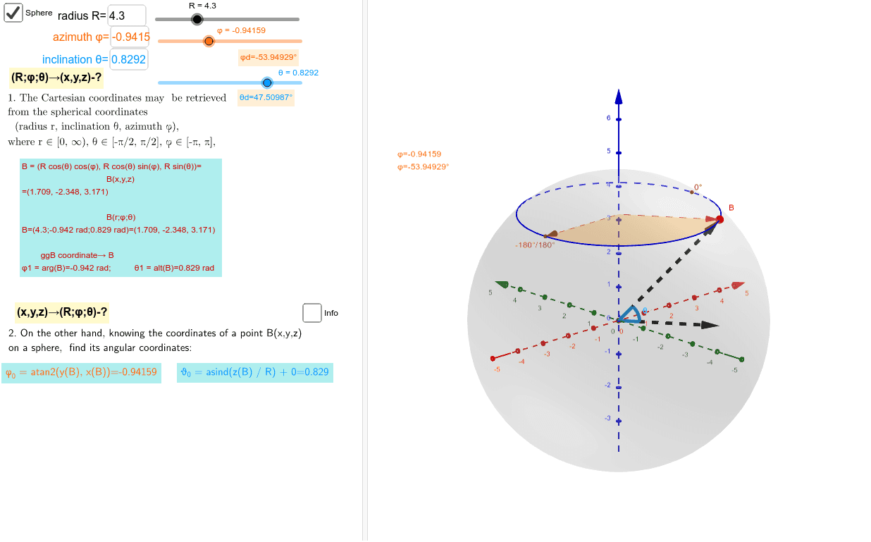 Interrelation of formulas and Implementation in Geogebra Press Enter to start activity