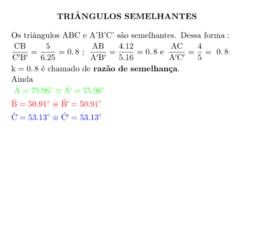 Semelhança de triângulos: Definição, critérios e demonstrações