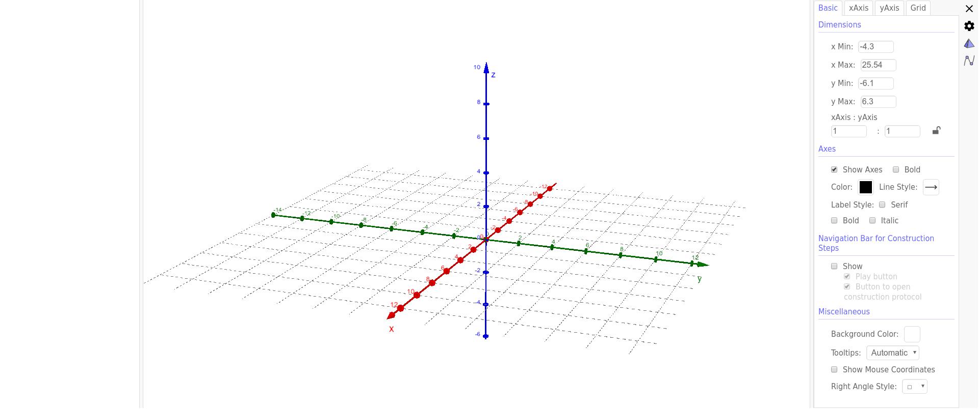 Blank 3D Graph – GeoGebra