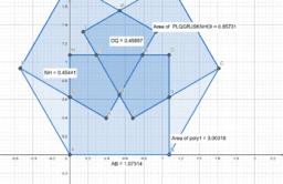 Hexagon Squares problem