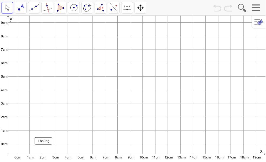 Dreieck 8: A(1/2), B(12/5), C(5/7): Zeichne das Dreieck und konstruiere den Schwerpunkt S. Füge den Screenshot der Koordinaten von S im Auftrag in Teams ein! Drücke die Eingabetaste um die Aktivität zu starten