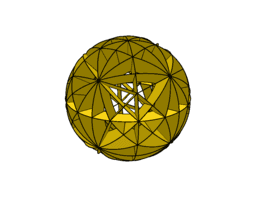 Spherical model - truncated octahedron