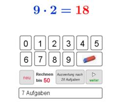 Produkte berechnen (Test)