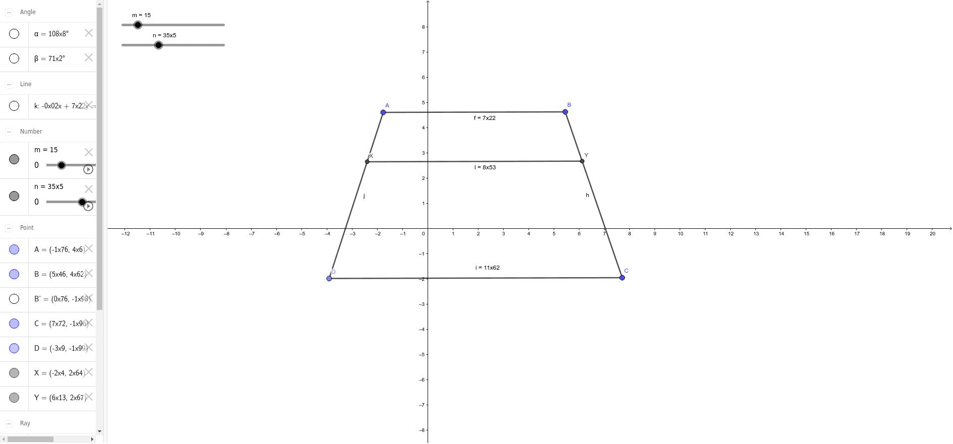 สี่เหลี่ยมคางหมู Press Enter to start activity