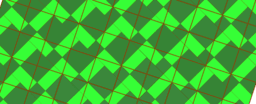Pythagorean Theorem by Tessellation # 67 Tiling