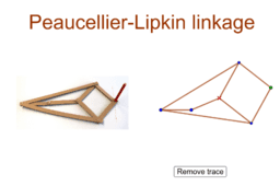 Peaucellier-Lipkin linkage