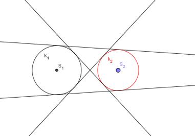 Zajedničke unutarnje i vanjske tangente kružnica
