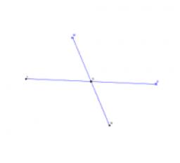 Příčková konstrukce bodů a tečen elipsy