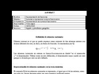 Actividad 3 Representación de fracciones