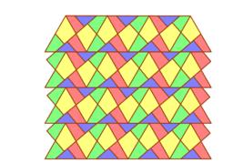 Dudeney Puzzle Mosaic