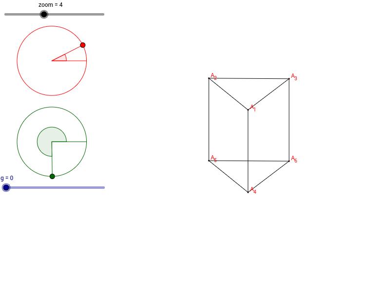 Siatka graniastosłupa prawidłowego trójkątnego