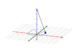 Oszillating Pendulum and Lissajous-Figures