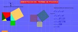 DEMOSTRACIÓN GRÁFICA Y TEÓRICA DEL TEOREMA DE PITÁGORAS