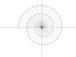 Escargot de Pythagore: Spirale des racines carrées d'entiers