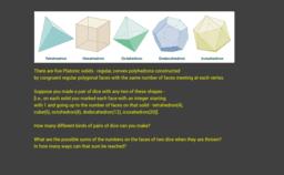 Plato's dice