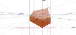 Dynamisk krydsperspektiv - målfast tegning