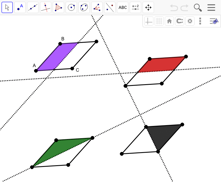 Rhombus Reflectional Symmetry Press Enter to start activity
