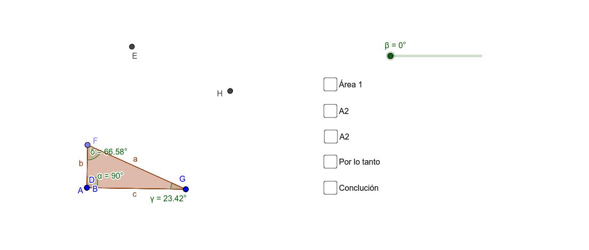 Teorema de Pitágoras; Demostración